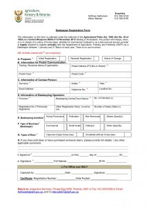 170306 Beekeeper Registration Form.