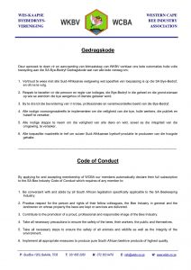 Code of Conduct 2015